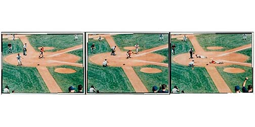 Play at the Plate Triptic